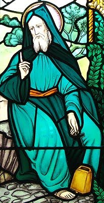 St Beuno - Patron Saint of sick children and healthy cattle
