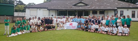 Rhiwbeina Primary girls are Kwik Cricket champs