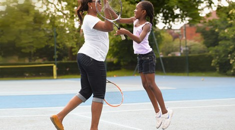Great British Tennis Weekend in Rhiwbina