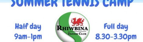 Tennis camps this summer