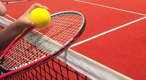 Rhiwbeina School is runner up in tennis comp
