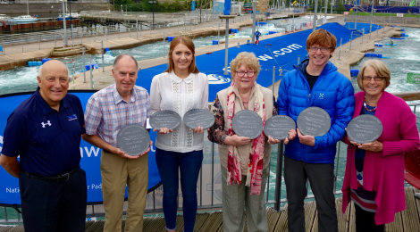 Paddlers make a splash at first Canoe Wales awards