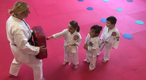 Karate academy now offers classes for women and tots
