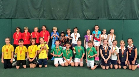 Rhiwbeina pupils are tennis champions