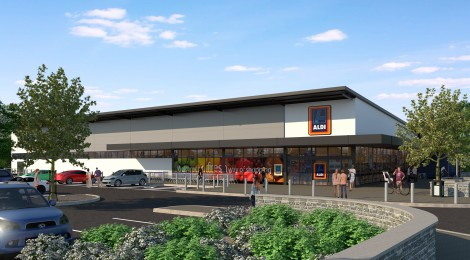 Aldi submits proposals for Caerphilly Road site