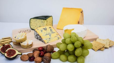 A Welsh cheeseboard for Christmas