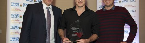 Rhiwbina wins again at Tennis Wales awards