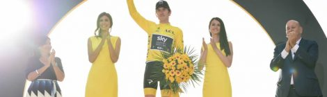 Famous Faces Congratulate Geraint Thomas on Tour De France Win