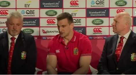 Tributes for Rhiwbina's Sam Warburton as he announces retirement